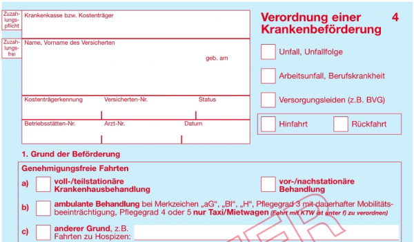 Muster 4 Verordnung Einer Krankenbeforderung 9
