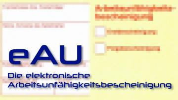 Übergangsregelung für e-AU